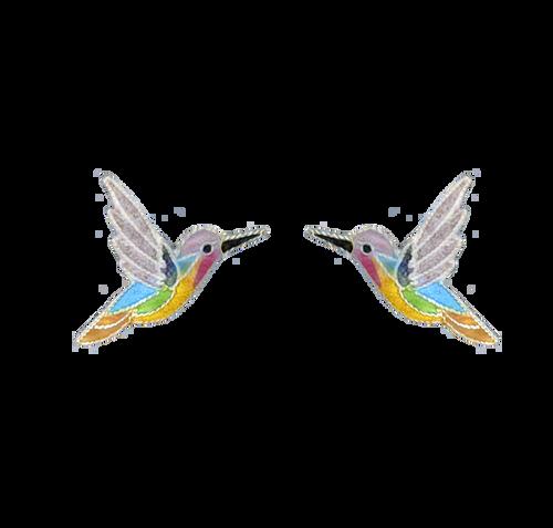 Jazz Bird Post Earrings