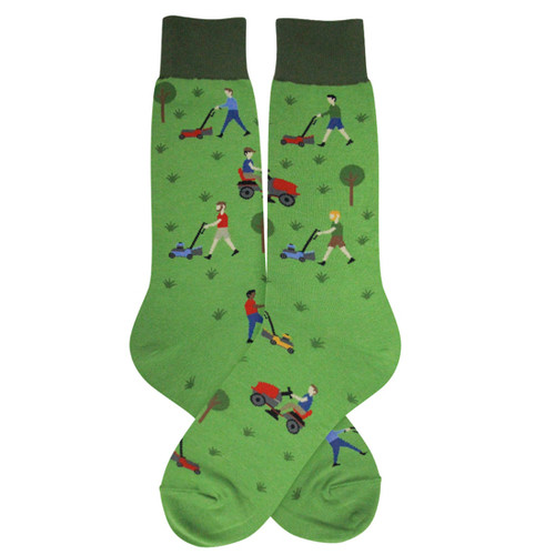 Mowing Men's Socks