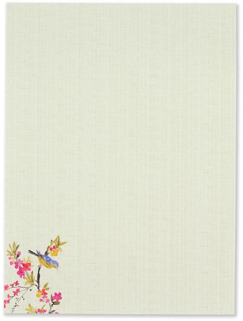 Blossoms & Bluebirds Stationery Set