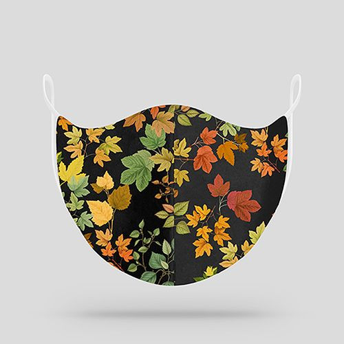 Fall Foliage Cloth Mask