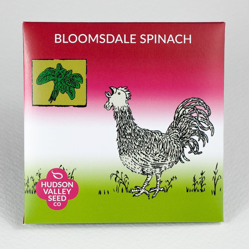 Hudson Valley Seed Library - Bloomsdale Spinach