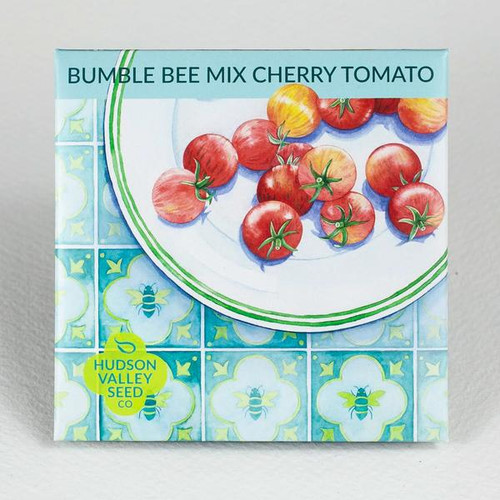 Hudson Valley Seed Library - Bumble Bee Mix Cherry Tomato
