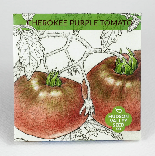 Hudson Valley Seed Library - Cherokee Purple Tomato