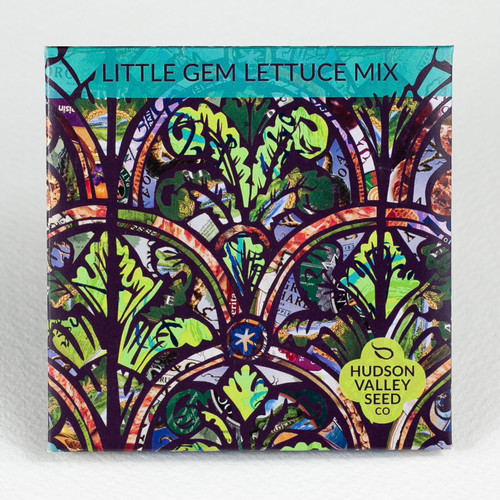 Hudson Valley Seed Library - Little Gem Lettuce Mix