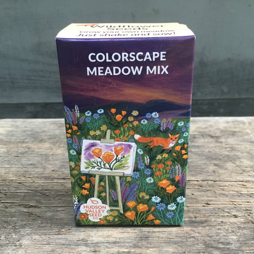 Hudson Valley Seed Library - Colorscape Meadow Mix Seed Shaker