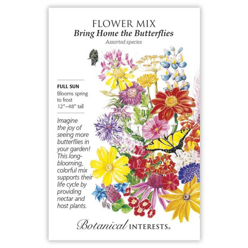 Botanical Interests - Bring Home the Butterflies Mix Seeds