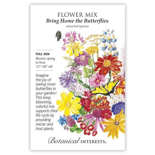 Botanical Interests - Bring Home the Butterflies Mix Seeds