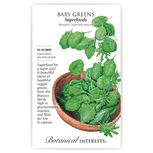 Botanical Interests - Baby Greens Superfoods Mix Seeds