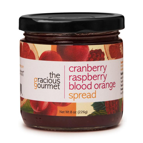 The Gracious Gourmet Cranberry Raspberry Blood Orange Spread
