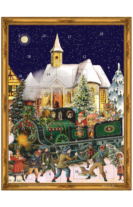 Large Santa Advent Calendar