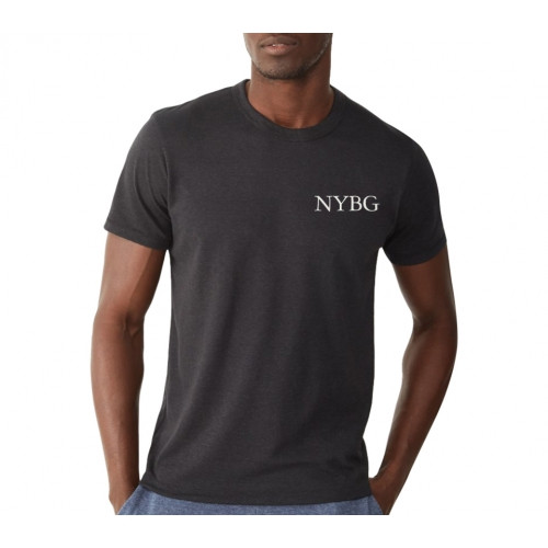 NYBG Eco-Jersey Tee in Charcoal
