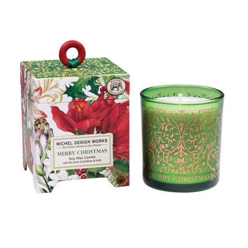 Merry Christmas 6.5 oz. Soy Wax Candle