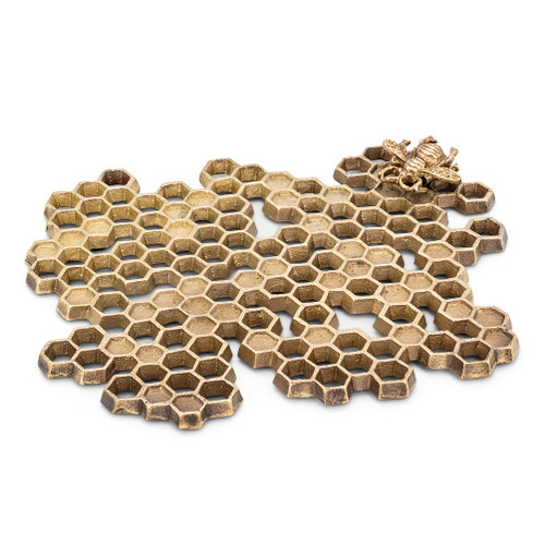 Honeycomb Trivet with Bee