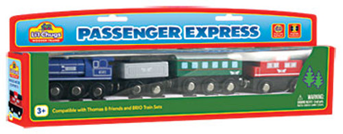 Li'l Chugs Passenger Express Train Set