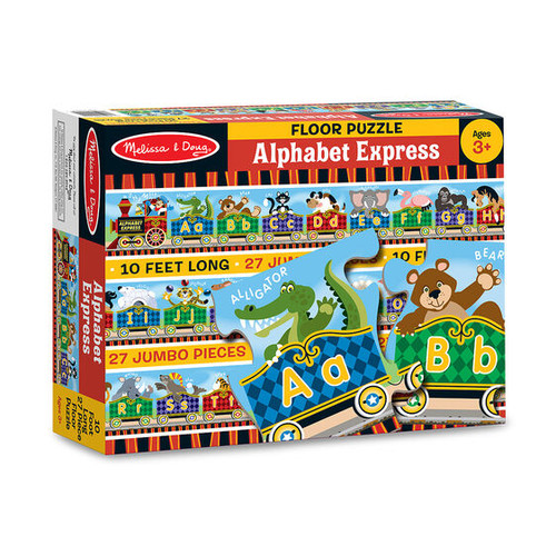 Alphabet Express Floor Puzzle