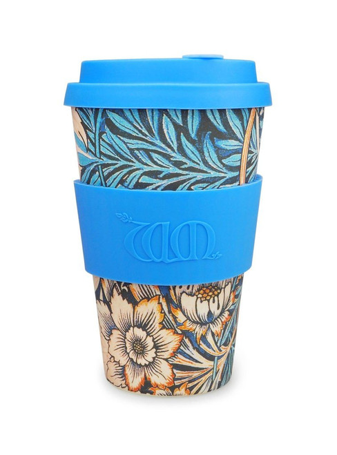 William Morris Blue Lily, 14oz Ecoffee Cup