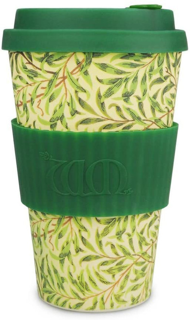 William Morris Green Willow, 14oz Ecoffee Cup