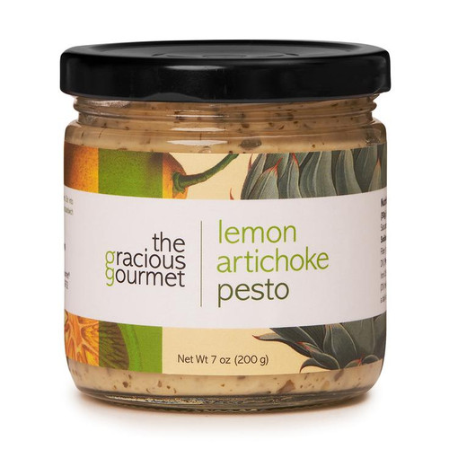 The Gracious Gourmet Lemon Artichoke Pesto