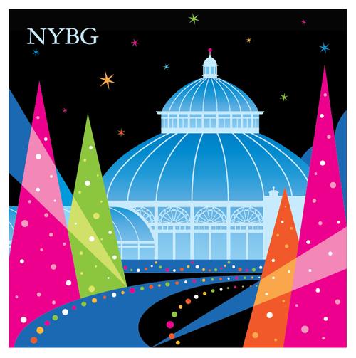 NYBG Glow Magnet
