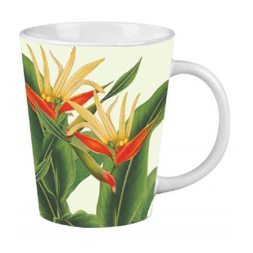 NYBG Heliconia Latte Mug
