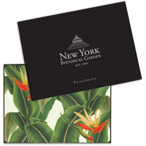 NYBG Heliconia Placemat Set