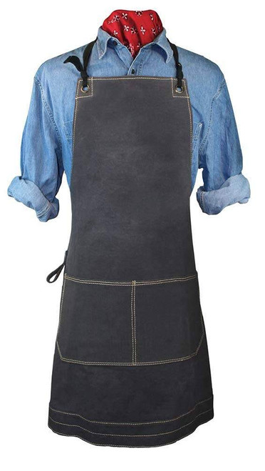 Charcoal Canvas Apron