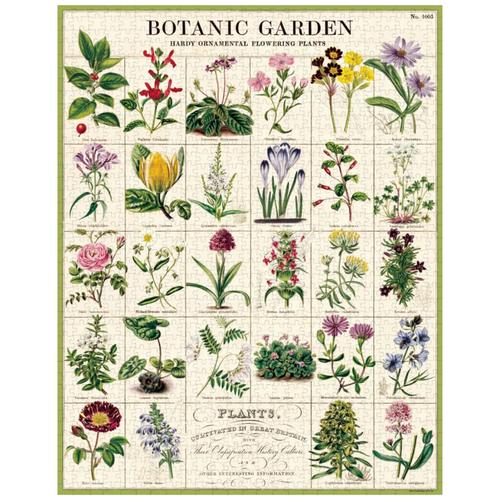 Cavallini & Co - Botanical Garden Puzzle