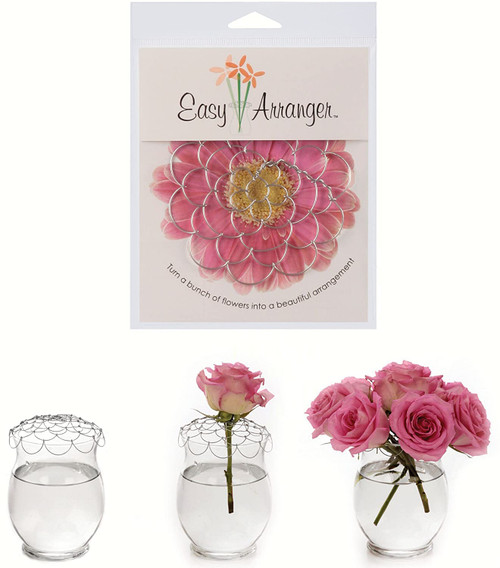 "4"" Easy Flower Arranger"