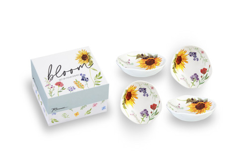 Bloom Dipping Dish (Set of 4)