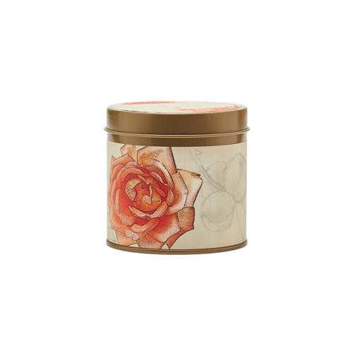 Rose 8oz Tin Candle