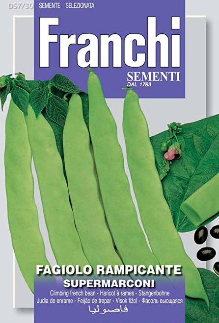 Franchi Seeds - Faciolo Rampicante Supermarconi