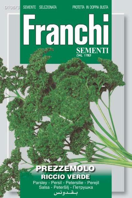 Franchi Seeds - Prezzemolo Riccio Verde