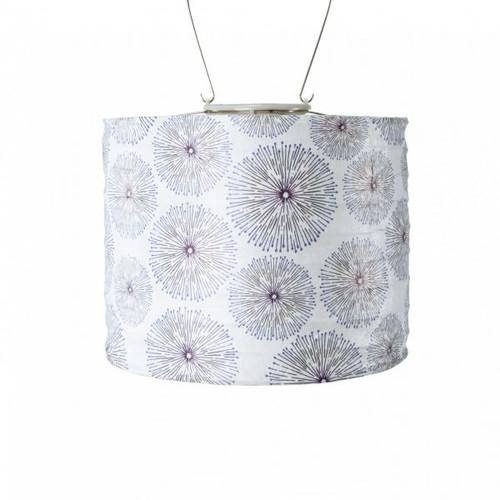 Stell Drum Urchin Solar Lantern