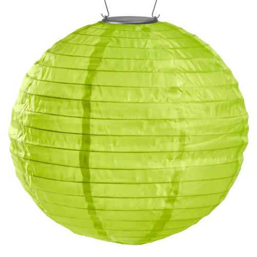 Lime Illume Round Solar Lantern