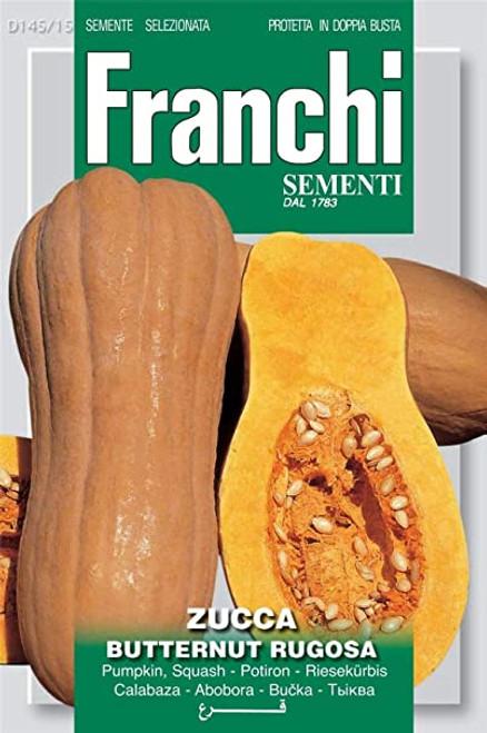 Franchi Seeds - Winter Squash Butternut Rugosa