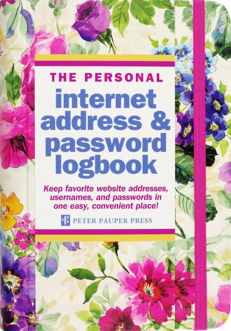 Peony Garden Password Book