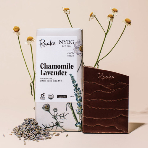 NYBG x Raaka Chamomile Lavender Chocolate