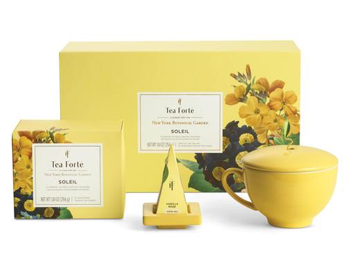 NYBG x Tea Forte Soleil Gift Set