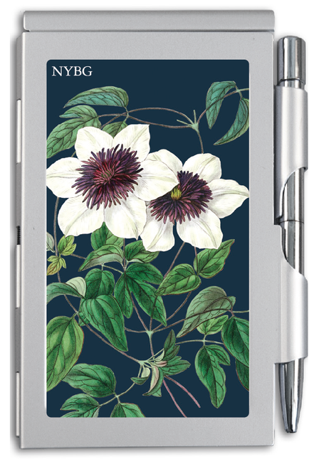 NYBG White Floral Notepad & Pen Set