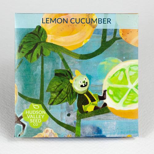 Hudson Valley Seed Library - Lemon cucumber