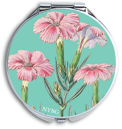NYBG Pink Floral Pill Box