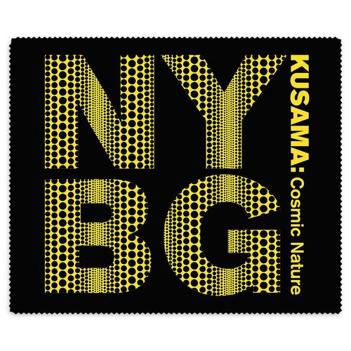 Yayoi Kusama Black NYBG Lens Cloth
