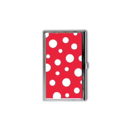 Yayoi Kusama Red Polka Dot Card Case