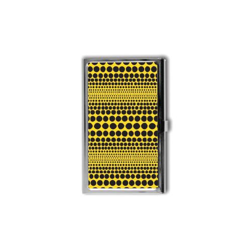 Yayoi Kusama Black Stripe Polka Dot Card Case