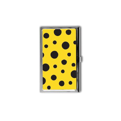 Yayoi Kusama Black Polka Dot Card Case