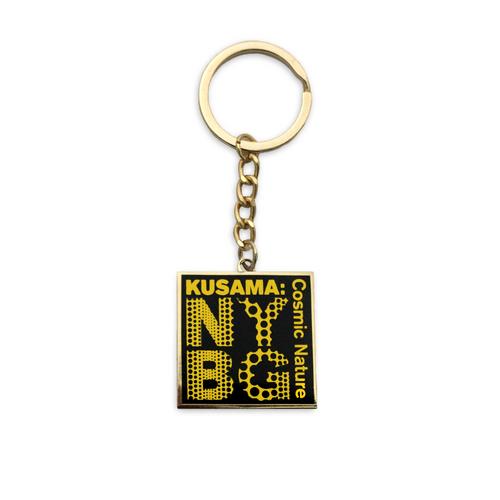 Yayoi Kusama Black NYBG Keychain