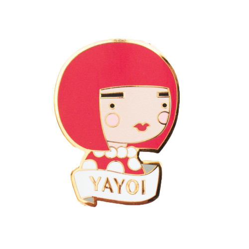Yayoi Kusama Enamel Pin