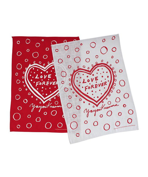 Yayoi Kusama Love Forever Tea Towel Set