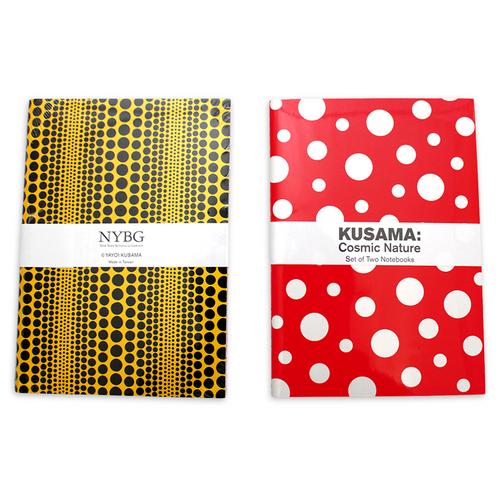 Yayoi Kusama Cosmic Nature Notebook Set
