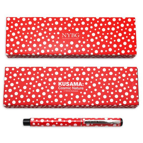 Yayoi Kusama Red Cosmic Nature Boxed Pen